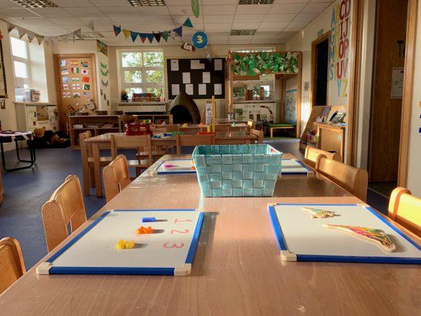Pre-school room at Little Ladybirds