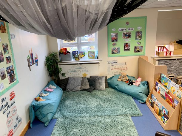 Toddler room at Little Ladybirds